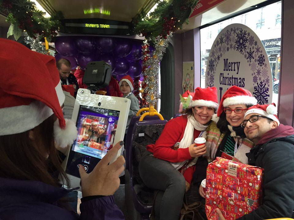 Luas @ Christmas Activation